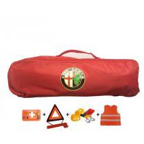 Taška povinnej výbavy Alfa Romeo červená