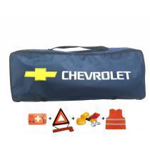 Taška povinnej výbavy Chevrolet modrá