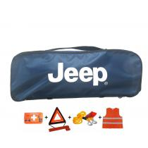 Taška povinnej výbavy Jeep modrá