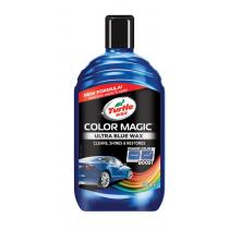 Autovosk Turtle Wax Color Magic Plus 500ml modrý