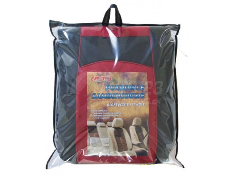 16035632608c Autotričká Leather look béžové Pok-Ter