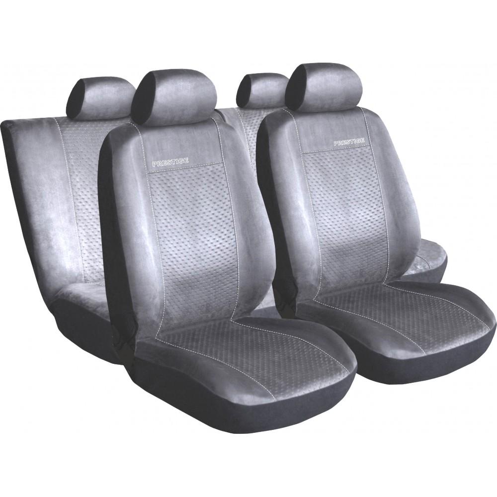 Autopoťahy Prestige alcantara šedé